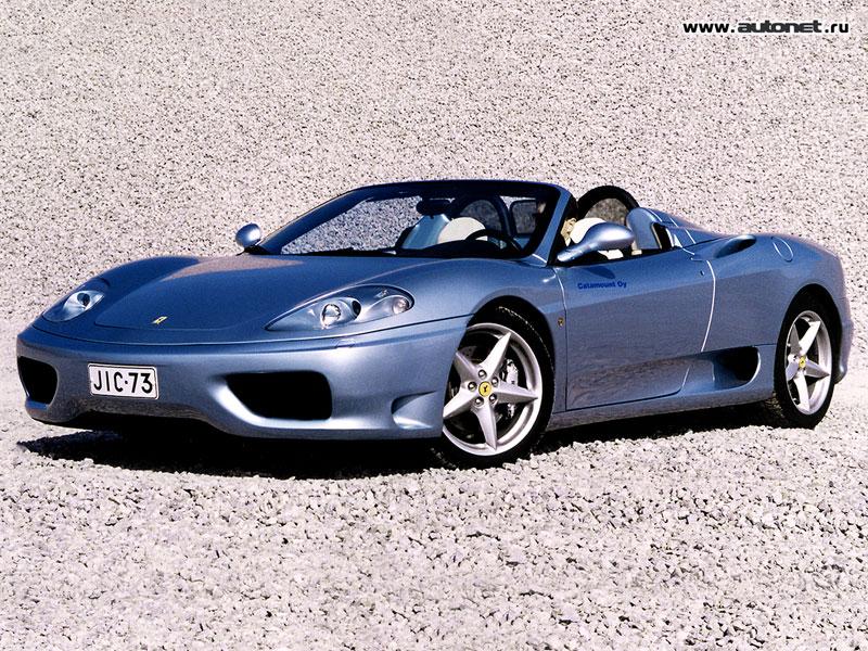 Ferrari 360 Spider фото.